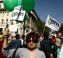 A Kormányváltó tüntetés képekben.