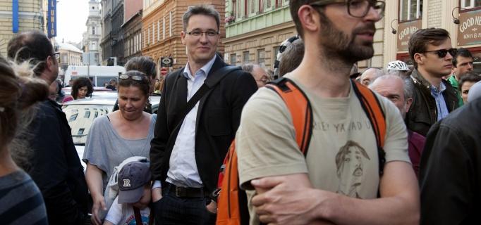 Karácsony_Gergely_sajtószabadság_tüntetés