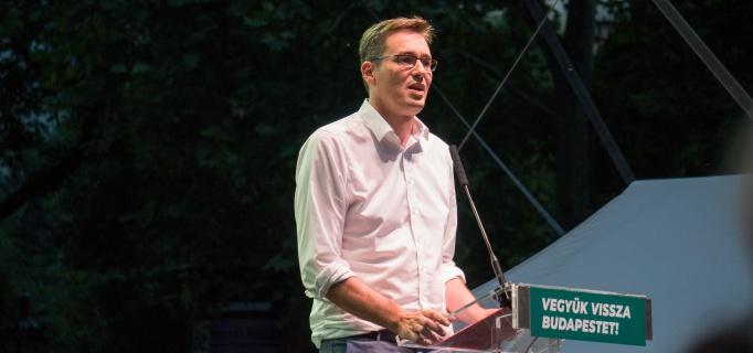 Karácsony Gergely, Budapest, önkormányzati választások, főpolgármester-jelölt