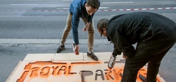 Az Együtt-PM lezárta Orbán Viktor királyi parkolóját