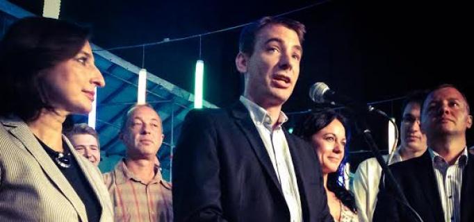 Jávor Benedek az EP választás éjszakáján