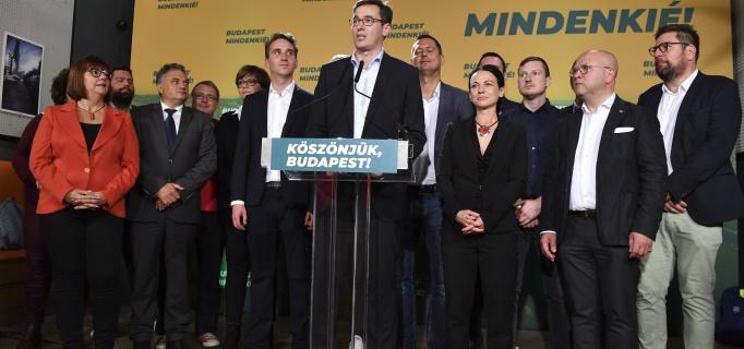 Karácsony Gergely, választás, győzelem, főpolgármester, ellenzék, összefogás, Budapest