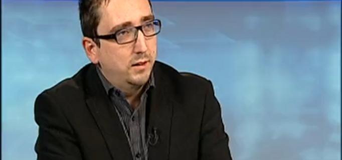 """Scheiring Gábor a """"Magyarország élőben"""" c. műsorban - 2014.01.13."""