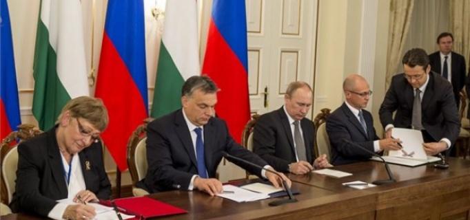 Az Orbán-Putyin paktum aláírása