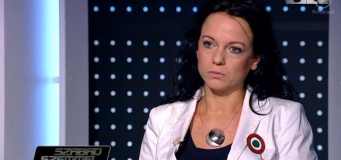 Szabó Tímea az ATV Szabad Szemmel műsorában - 2014.03.16.