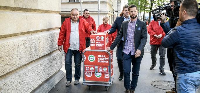 Párbeszéd, Európa Parlament, választások, Tordai Bence